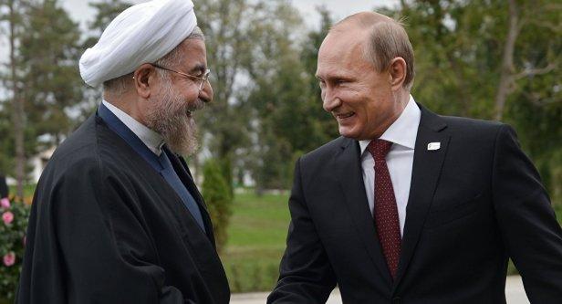 Rouhani e Putin
